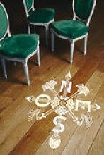 Sticker Boussole / Pour le sol - Domestic