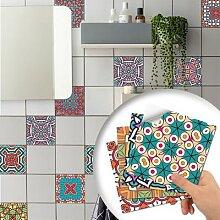 Sticker carrelage cuisine salle de bain PVC
