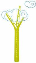 Sticker Cumulus / Toise - Domestic vert en