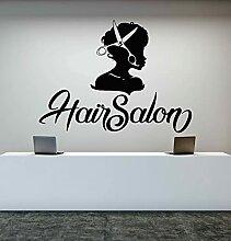 Sticker mural vinyle Salon de beauté ciseaux