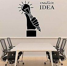 Stickers Autocollant De Bureau Idée Créative