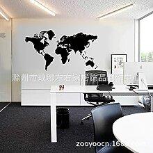 Stickers muraux carte du monde nouvelle collection