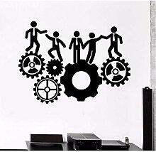 Stickers muraux de bureau d'inspiration