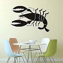 Stickers Muraux De Cuisine Grande Taille Homard