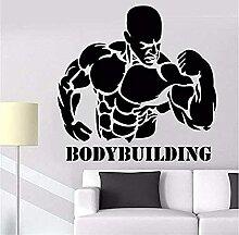 Stickers Muraux Decal Sport Bodybuilder Activité