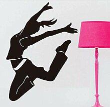 Stickers Muraux Décalcomanies Danseur Danse