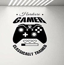 Stickers Muraux Décalcomanies Jeu Hardcore Gamer