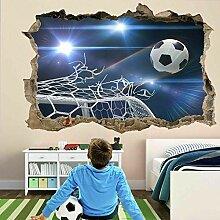 Stickers muraux Football But Filets 3D Sticker