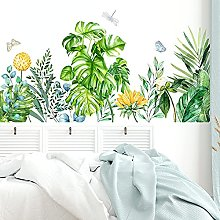 Stickers muraux, plante verte Tropical Plam