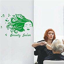 Stickers Muraux Salon De Beauté Décoration Fille