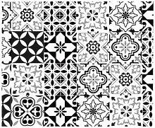 Stickers Retro Rouleau Sticker Carreaux de Ciment