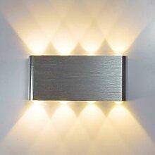Stoex - Applique Murale LED 8W Moderne Aluminium
