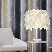 STOEX Lampe de table en plumes Blanc Lampes de