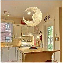 Stoex - Lampe en aluminium Suspension de lune et