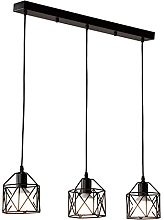 STOEX Suspension industrielle Vintage Lampe Lustre
