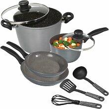 Stoneline 14242 Aluminium de Cuisine-Marmite à