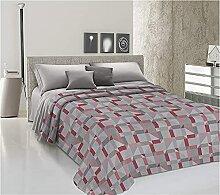 Store Couvre-lit d'été en piqué de coton,