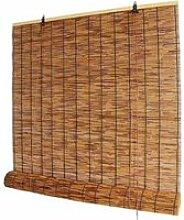 store en bambou naturel,store enrouleur en roseau