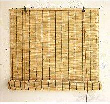 Store Enrouleur Bambou avec Ombrage,Rideau de