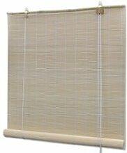 Store enrouleur bambou naturel 100 x 160 cm