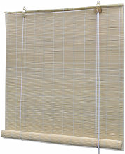 Store enrouleur bambou naturel 120 x 220 cm