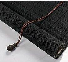 Store Enrouleur Bambou Noir,Store Venitien