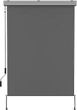 Store enrouleur d'extérieur aluminium gris