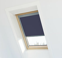Store occultant compatible Velux ® 104 - Bleu
