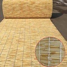 Store Romain en Bambou, Rideau De Roseau Enrouleur