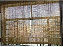 Stores à Rouleau en Bambou Naturel,Abat-Jour