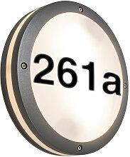 Storm O - Eclairage pour numéro de maison Moderne