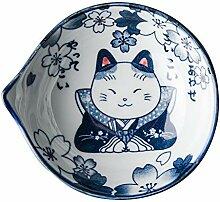 STRAW Creative Japonais hefeng Peint à la Main