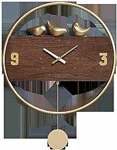 STRAW Horloge murale Design moderne Horloges Home