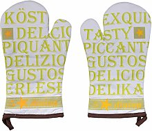 Stuco Trends Textiles Gant, coloré, Circa 19 x 32