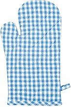 Stuco Trends Textiles Gant de Four Bleu Environ 19
