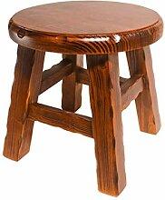 Sturdy stool - Petit tabouret bois massif petit