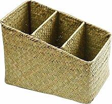 [Style 2] Boîte de rangement en osier panier de