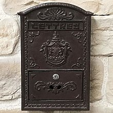 Style Ancienne Boîte à Lettre Murale Boîte aux