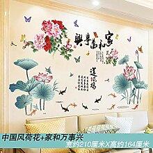 Style chinois antiquité autocollants muraux