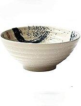 Style japonais 8 '' Miso Ramen Soup Bowl