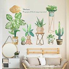 Style nordique INS plante verte balcon