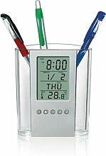 Stylo porte-stylo numérique LCD bureau réveil
