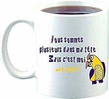 Sublimagecreations Mug C'est Moi Le Chef, mug