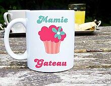 Sublimagecreations Mug Mamie gâteau, mug