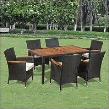 Sublime meubles de jardin famille rabat mobilier