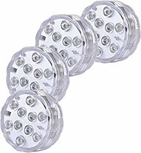 Submersible LED Lights, RGB Multicolor 10LEDs LED