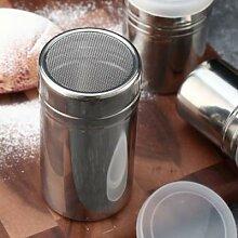 Sucrier en poudre avec couvercle, glaçage à la