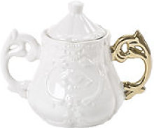 Sucrier I-Sugar - Seletti or en céramique