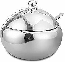 Sucrier - Pot à épices en acier inoxydable 304 -