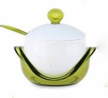 Sucrier Vintage Pot à Épices En Céramique avec